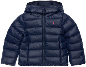 Ralph Lauren Padded Nylon Jacket W/ Hood