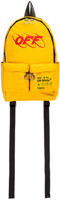 Off-White Off White Industrial Y013 Backpack in Yellow & Red | FWRD