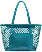 Micom Cute Neno Candy Color Polka Dot Clear Beach Tote Shoulder Handbag