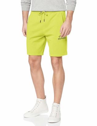 Tommy Hilfiger Men's Basic Embroidered Sweatshort Sports Jumper