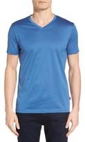 BOSS Men's Slim Fit V-Neck T-Shirt
