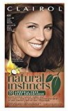 Clairol Natural Instincts, 4W / 28B Roasted Chestnut Dark Warm Brown, Semi-Permanent Hair Color, 1 Kit (Pack of 3)