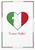 Williams-Sonoma Williams Sonoma Ti Amo Italia Towel