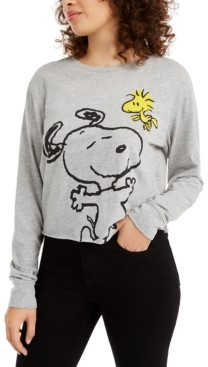 Love Tribe Juniors' Snoopy Graphic T-Shirt