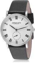 Johan Eric Men's JE-H1000-04-001 Holstebro Analog Display Quartz Black Watch
