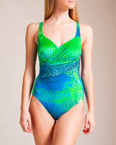 Maryan Mehlhorn Swimwear Mermaid U-Wire Swimsuit