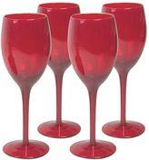Artland 4-pc. Midnight Rouge Wine Glass Set