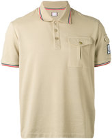 Moncler Gamme Bleu contrast polo shirt - men - Cotton - S