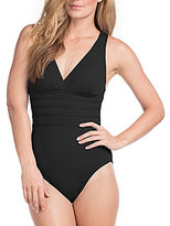 LaBlanca La Blanca Island Goddess Strappy One-Piece Swimsuit