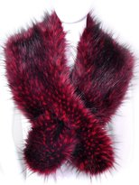 Futrzane Women's Faux Fur Neck Scarf Etola Wrap