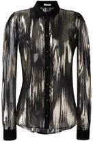 Ungaro sheer shirt - women - Silk/Polyester/Spandex/Elastane - 44
