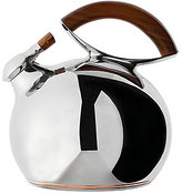 Nambe Namb Bulbo Stainless Steel & Acacia Wood Kettle