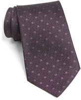 John Varvatos Men's Dot Silk Tie