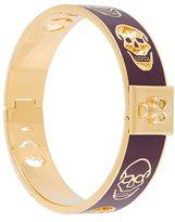 Alexander McQueen skull stamped bracelet