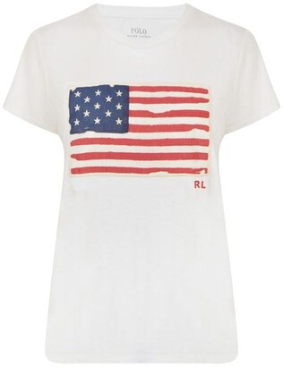 Polo Ralph Lauren Flag t Shirt