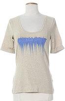 ESCADA T-shirt / Top BEIGE Manche cou