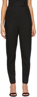 Haider Ackermann Black Wool Meditation Trousers