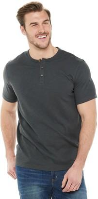Sonoma Goods For Life Big & Tall Short Sleeve Henley