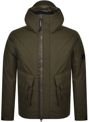 C.P. Company Hooded Jacket Khaki