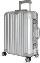 Rimowa Topas aluminium four-wheel cabin suitcase 55cm