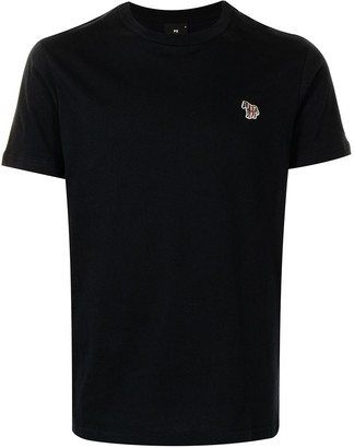 Paul Smith embroidered-logo organic cotton T-shirt