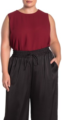 Rachel Roy Raeni Draped Back Tank Top (Plus Size)