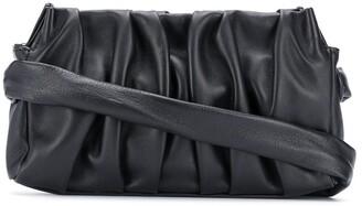 Elleme Vague draped clutch bag