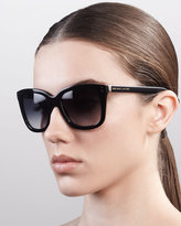 Marc Jacobs Classic Square Sunglasses, Black