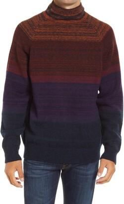 Scotch & Soda Gradient Mock Neck Sweater