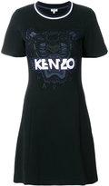 Kenzo Tiger patch T-shirt dress