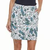 Croft & Barrow Women's Twill Skort