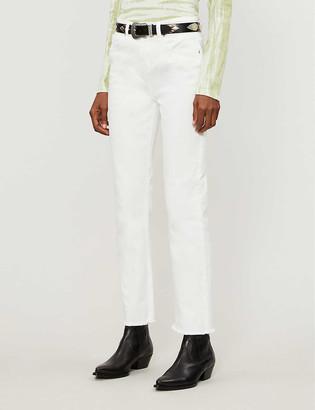 Maje Pacha high-rise flared denim jeans