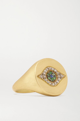 Ileana Makri Golden Dawn 18-karat Gold Multi-stone Ring - 6