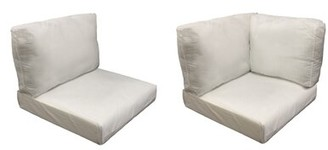 tk.TAKEO KIKUCHI Classics Miami 11 Piece Outdoor Cushion Set Classics Fabric: Coverless