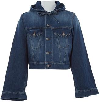 Ganni Blue Cotton Jackets
