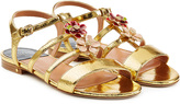 Laurence Dacade Lucca Leather Sandals