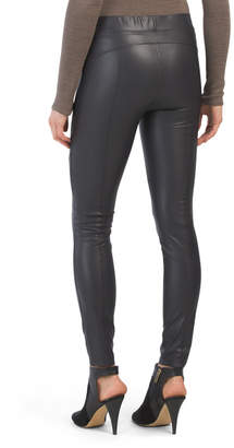 The Bergen Smooth Faux Leather Leggings