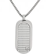 Ted Lapidus Men's Stainless Steel Necklace