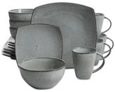 Gibson Elite Matisse Grey 16-Piece Dinnerware Set