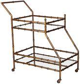 CAFE Lighting & Living Bar Cabinets & Bar Carts Tansu Drinks Trolley, Antique Gold