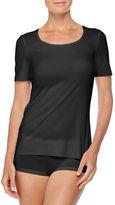 Wolford Pure Short-Sleeve Shirt