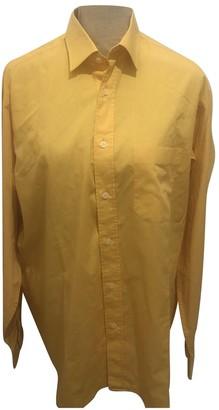 Courrã ̈Ges CourrAges Yellow Cotton Shirts