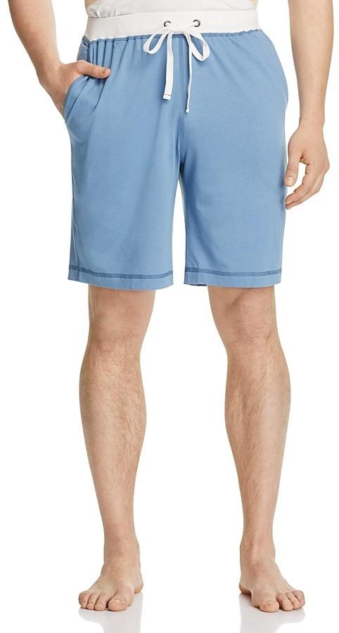 Daniel Buchler Pima Cotton-Modal Lounge Shorts