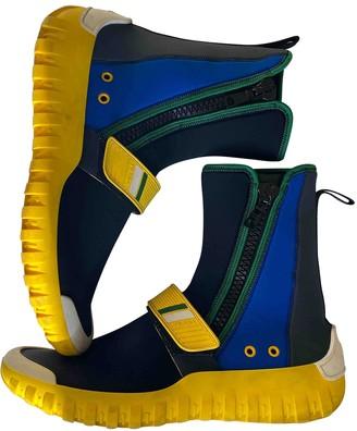 Prada Multicolour Rubber Boots
