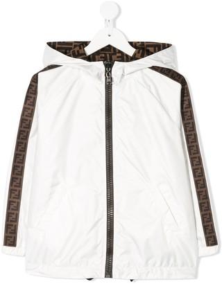 Fendi Lightweight Reversible Rain Jacket