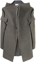 Maison Margiela deconstructed single-breasted coat