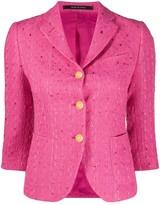 Tagliatore cropped fit blazer
