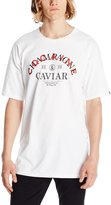 Crooks & Castles Men's Knit Crew T-Shirt-Triple C's