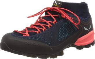 Salewa WS Alpenviolet Knitted Trekking & hiking shoes Women's Blue (Premium Navy/Ocean) 9 UK