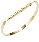 Amrapali 18K Yellow Gold & 0.20 Total Ct. Diamond Bar Bangle Bracelet